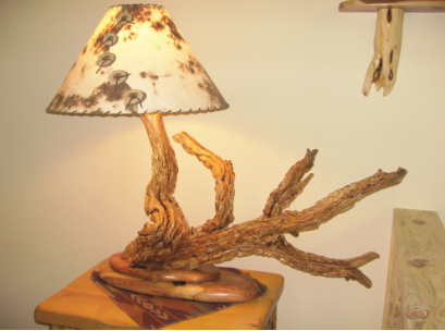 Juniper Candlewax Lamp